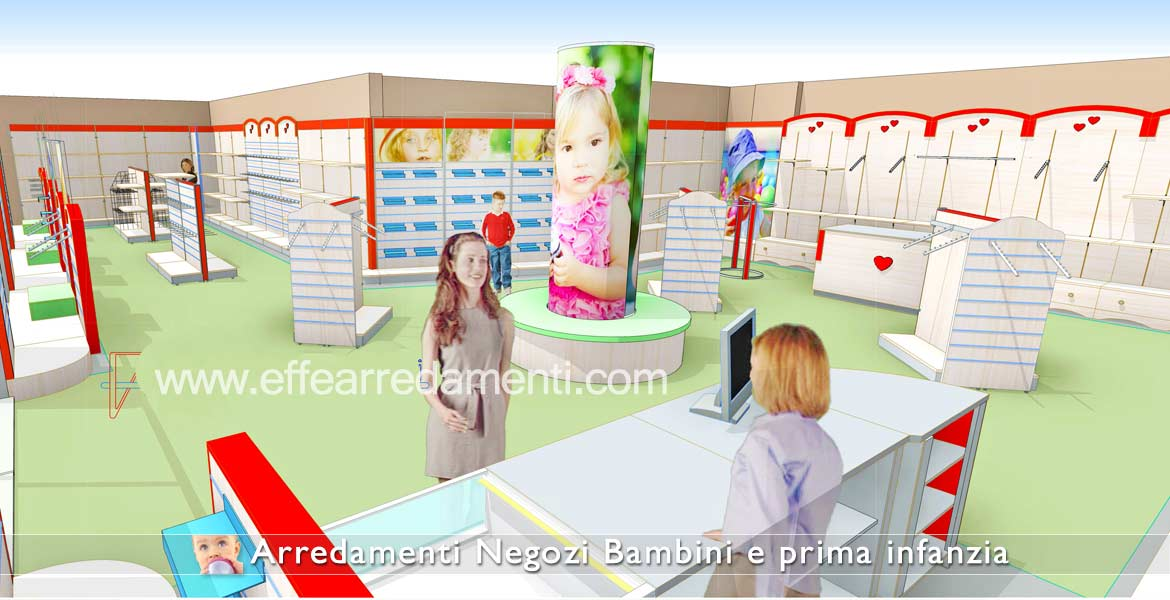 Furniture store project for children