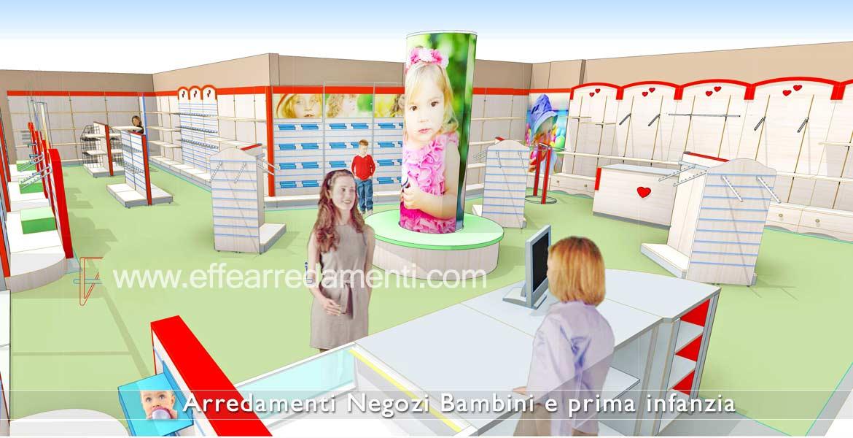 Проект мебельного магазина для детей