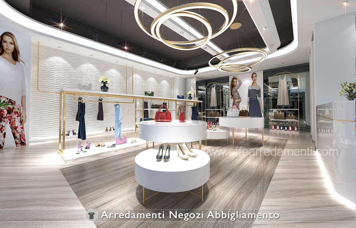 furniture for clothing stores effe arredamenti