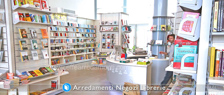 Arredamenti per negozi di libri e librerie effe arredamenti for Confalone arredamenti librerie