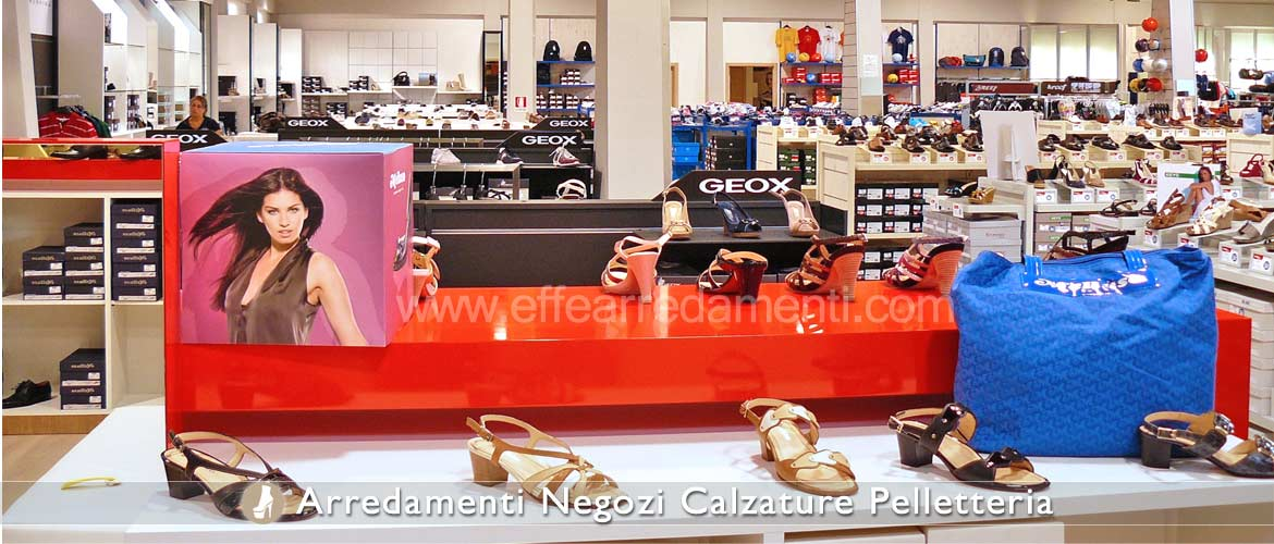 Large furniture store Geox shoes