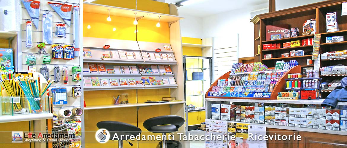 Furniture for Tobacconist and Stationery