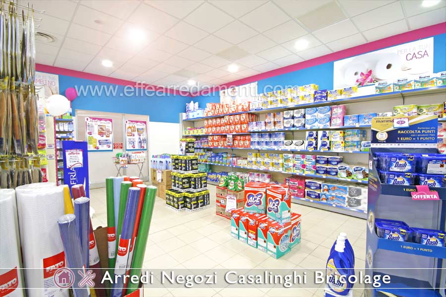 Arredamenti per negozi di prodotti per la casa casalinghi for Prodotti brico
