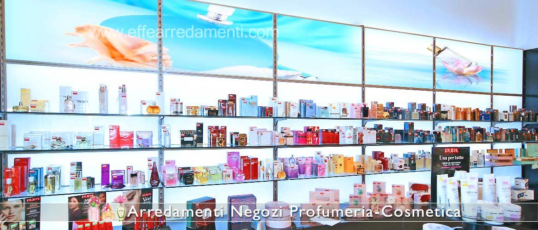 Décor Parfumerie Unité murale éclairée