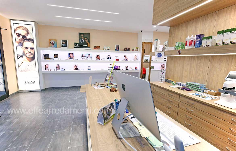 Arredamenti per ottiche allestimento ottiche mobili per negozi