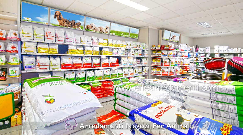 Arredamenti per negozi prodotti animali effe arredamenti for Negozio di metallo con appartamento