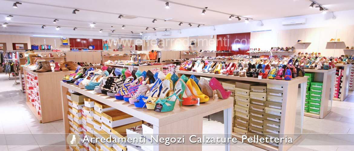 Furniture and Large Equipment Shop Footwear