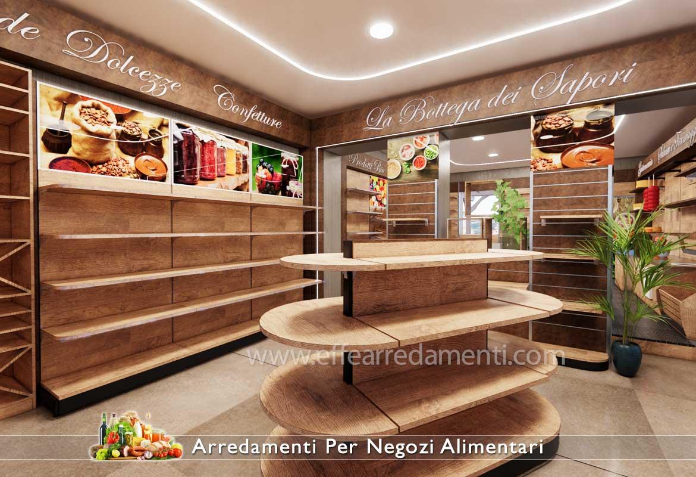 Esempio Progetto arredamenti negozi alimentari