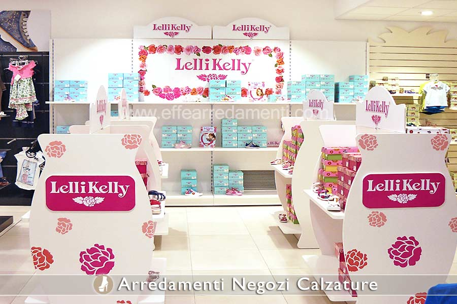 Shop Display Exposure Kids Shoes Lelli Kelly