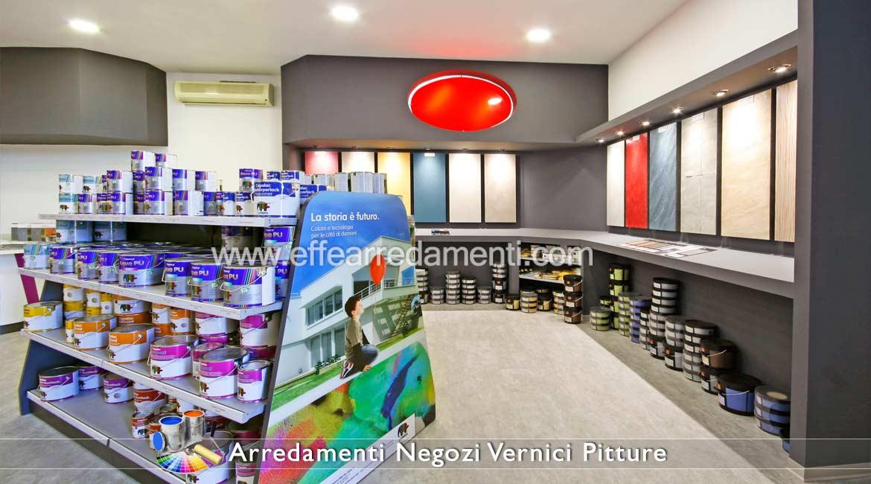 arredamenti per negozi pitture vernici colorifici - effe arredamenti - Arredamento Interni Negozi