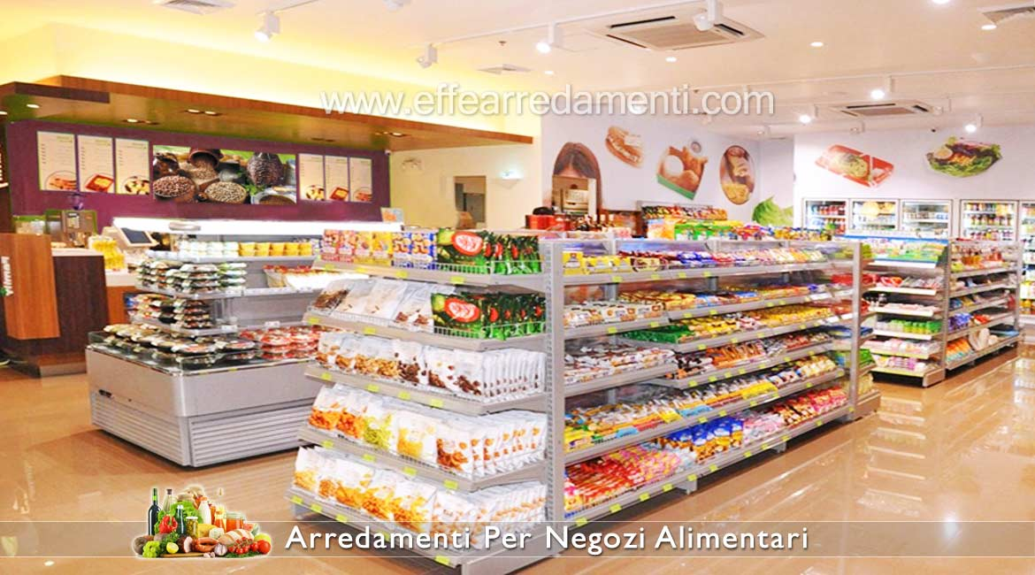 Shelving for Food Stores and Mini Market