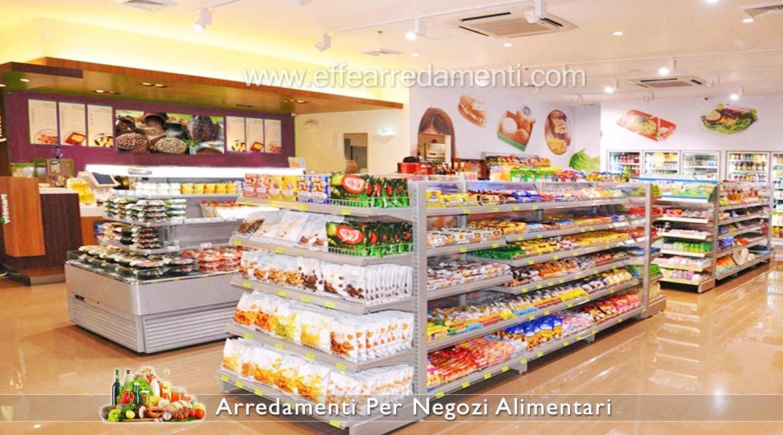 Scaffalature Per Negozi Alimentari e Mini Market