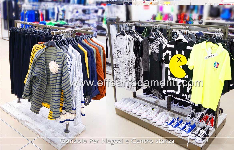 Gondole stender appenderia negozio abbigliamento