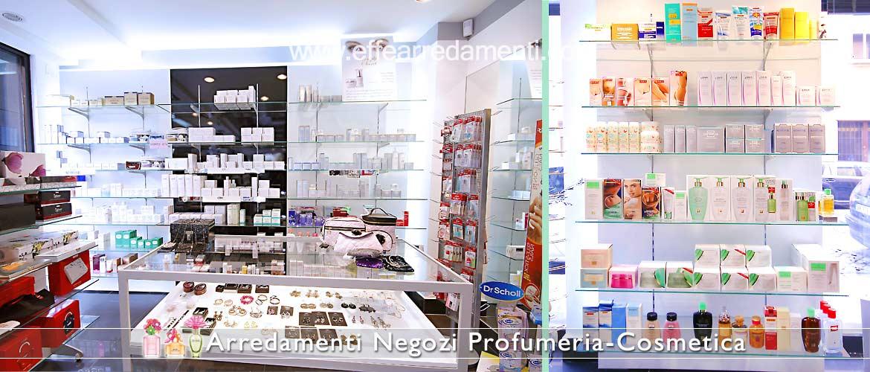 Arredamento e Scaffali per Profumeria e Cosmetica