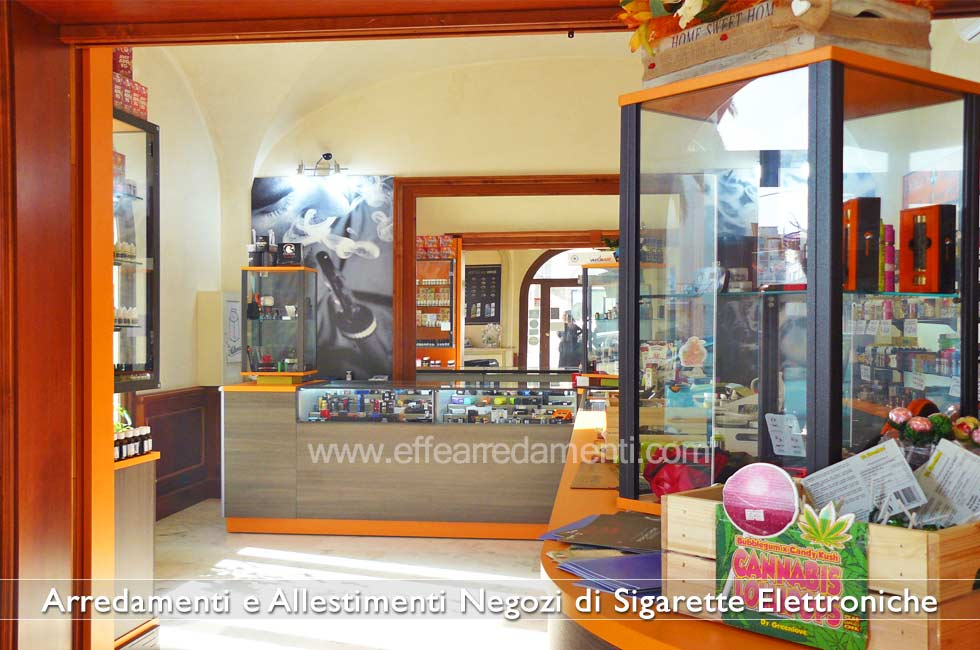 Furniture for Electronic Cigarette Stores