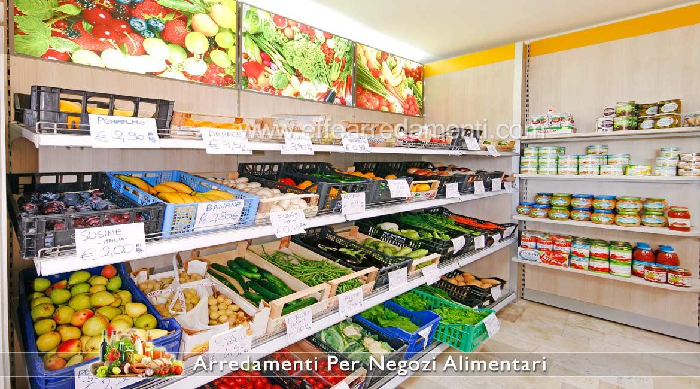 Arredamento Esposizione Frutta Verdura