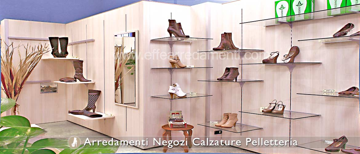 Wall Furniture Equipped for Exposure Footwear