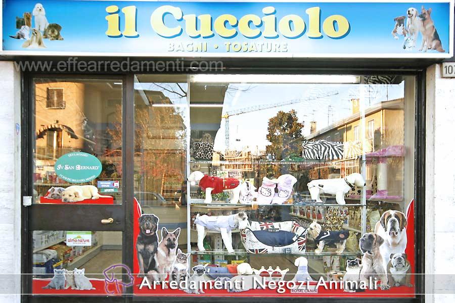 Arredamenti per negozi prodotti animali effe arredamenti for Arredamento negozi bologna