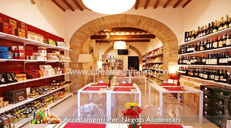 arredamenti per negozi di alimentari prodotti tipici e