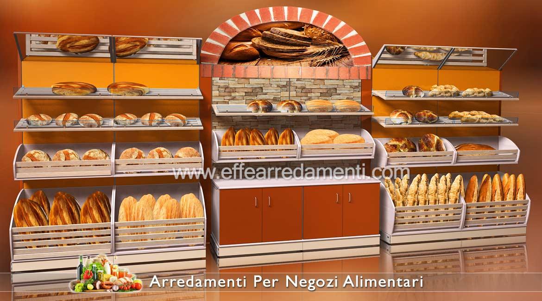Arredamento Modulare Per Negozio Alimentari Panetteria