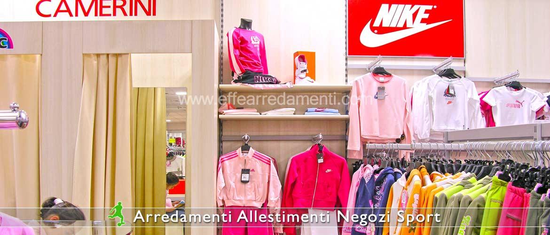 Arredamenti e allestimenti negozi di articoli sportivi for Fucili arredamenti