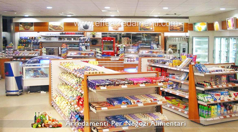 Arredamenti per negozi di alimentari prodotti tipici e for Piani di garage con lo spazio del negozio