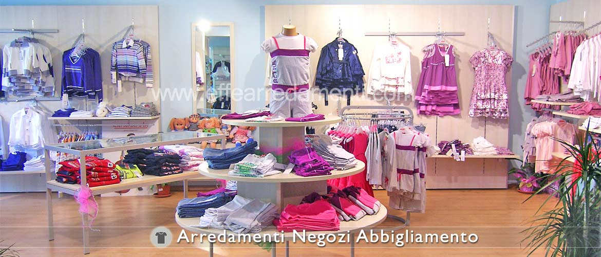 Furniture For Shop Clothing for Children and Girls
