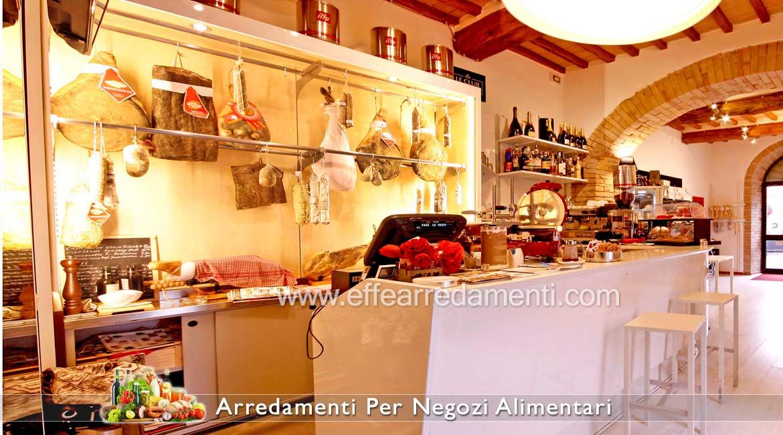 Arredamenti per negozi di alimentari prodotti tipici e for Arredamento per salumeria