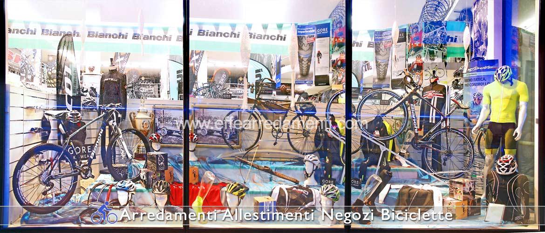 Arredo Esposizione Vetrina Negozio Biciclette
