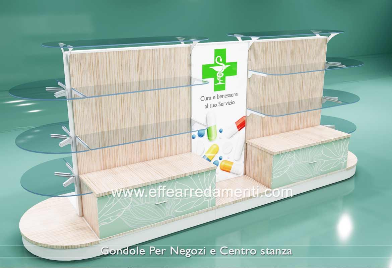 Gondole Farmacie Parafarmacie Modulari