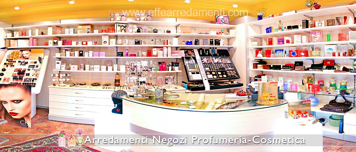 Wooden furniture for perfumery