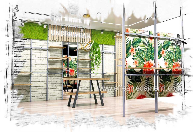 progettazione mobili negozi idee design