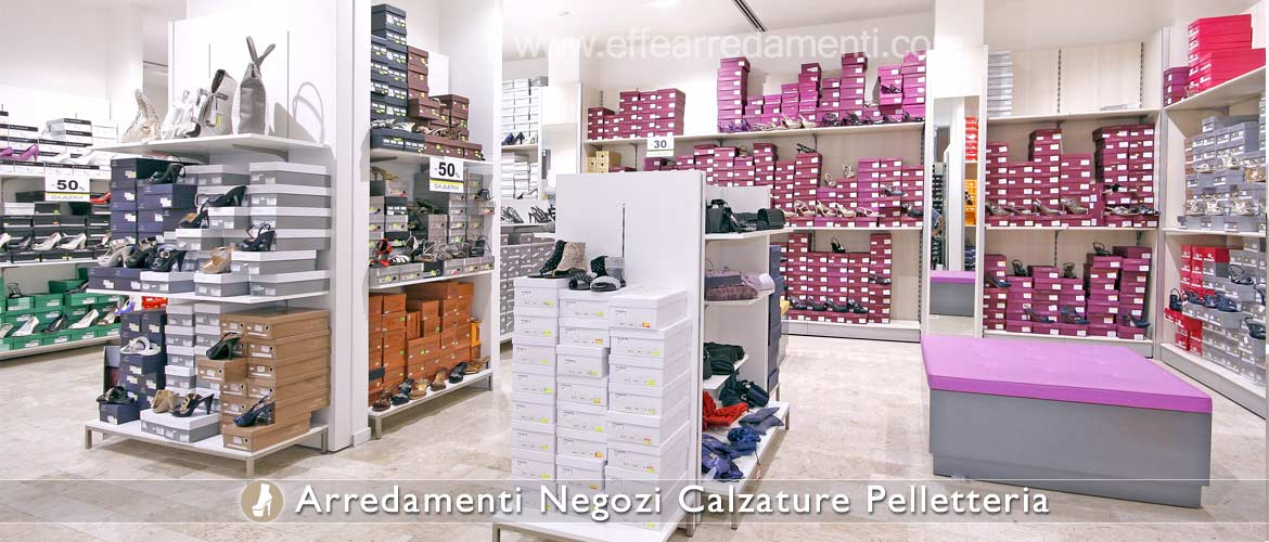Modular Furniture and Gondolas for Footwear and Shoes