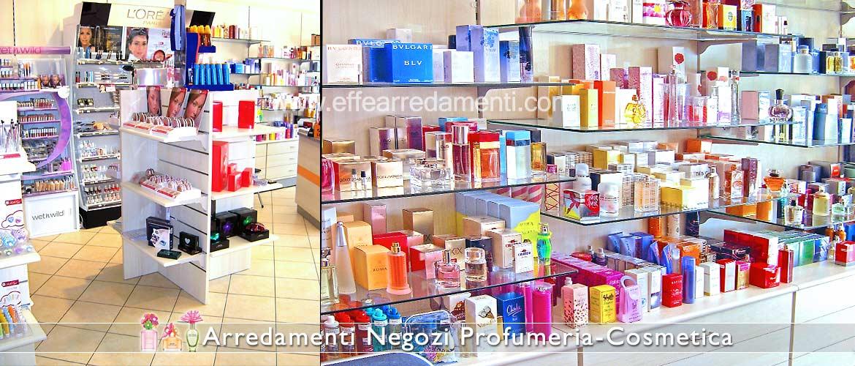 Exhibitors furnishings for perfumes