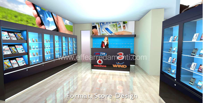 arredamenti per negozi in franchising e concept store - effe ... - Arredamento Negozio Abbigliamento Yahoo