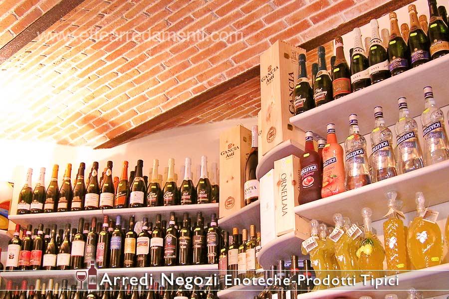 Ameublement et aménagement de magasins de vins
