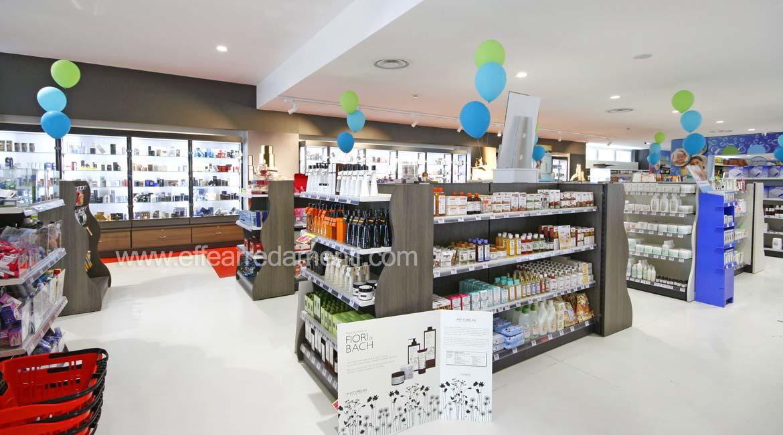 Gondole per Negozio Esposizione Prodotti Cosmetici Verona