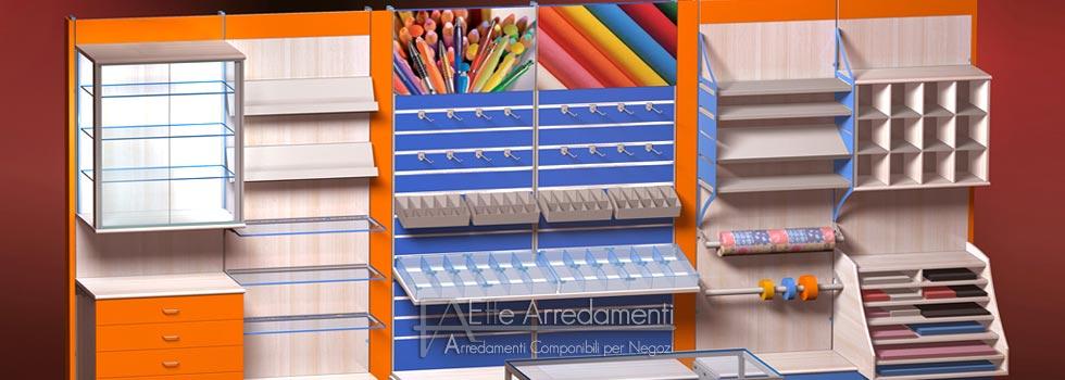 Arredamenti modulari per negozi effe arredamenti for Montaggio arredamenti negozi