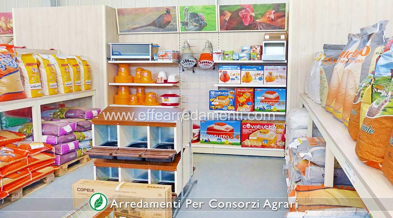 Arredamento Negozi Consorzi Agricoli Prodotti Avicoltura