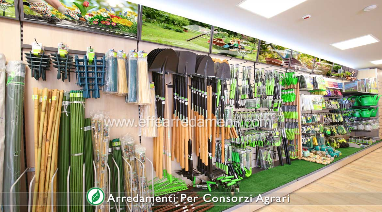 Arredamenti per negozi consorzi agrari e prodotti agricoli for Negozi per arredo giardino