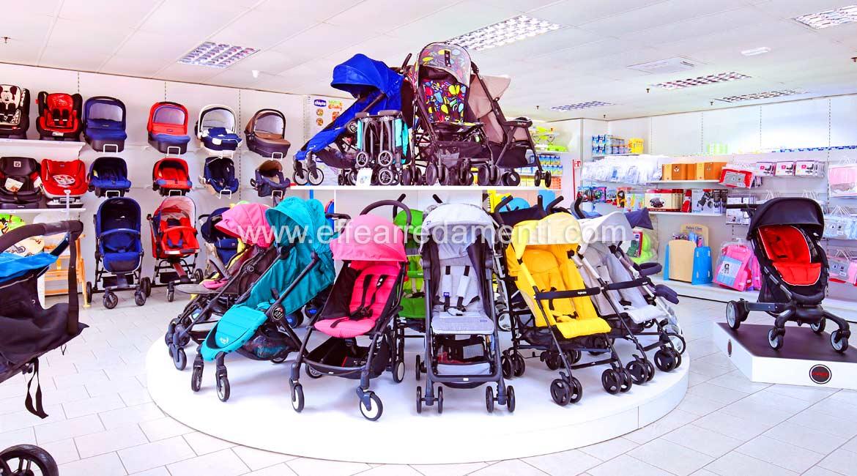 Circular Platform exposition of strollers Viterbo