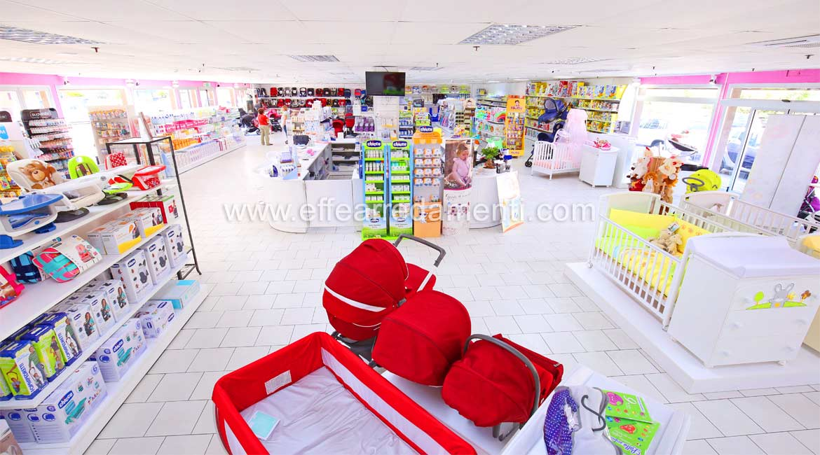 Large furniture Retail store of products for children.