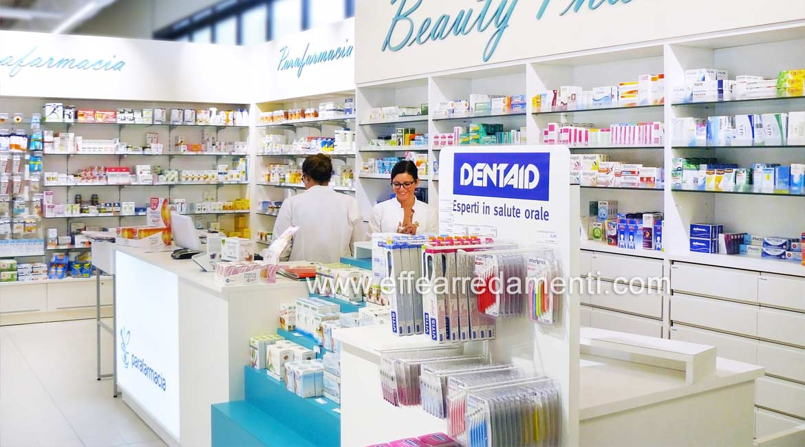 Cash desk for Pharmacies and Parapharmacies,