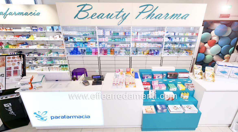 Cash desk Pharmacy Ferrara shopping center