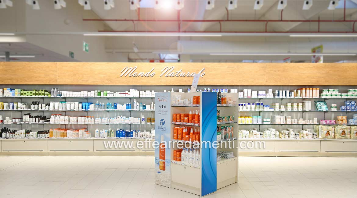 Modular furniture for Cosmetics products