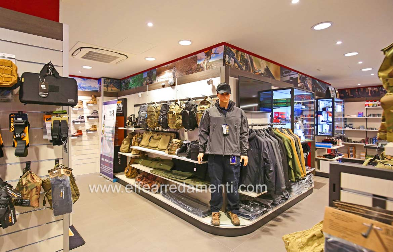 Ameublement Boutiques Vêtements Chasse Militaire Armes de sport