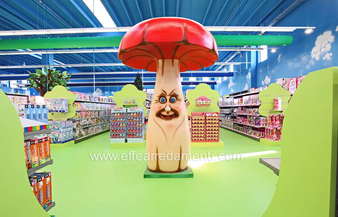 Set Design For Toys Shop