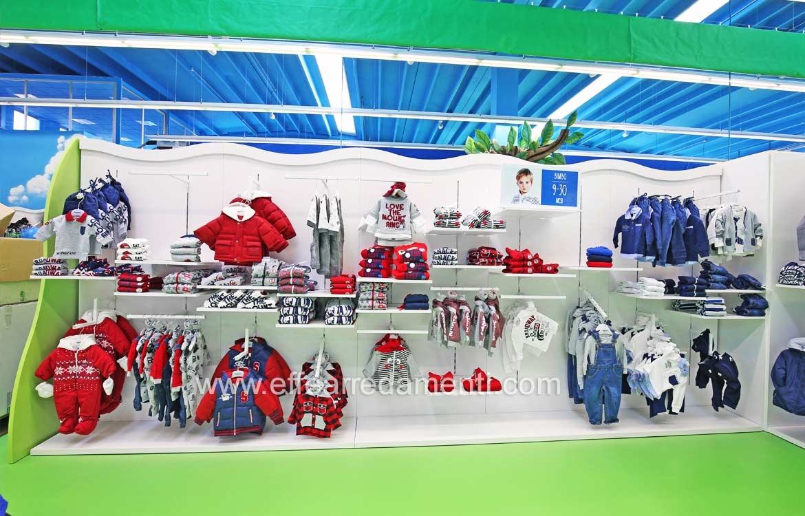 Modular Wall Decor For Children's Clothing Store