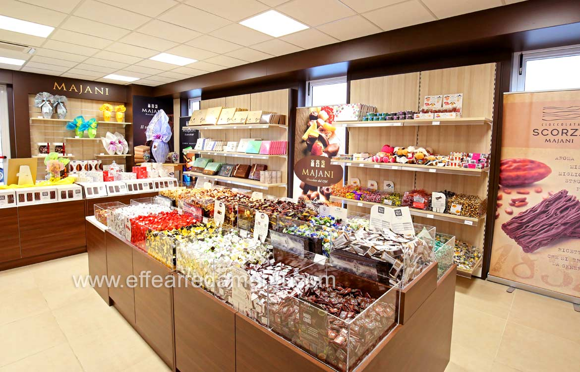 Furnishings Shops of Chocolates, Candy and Confectionery