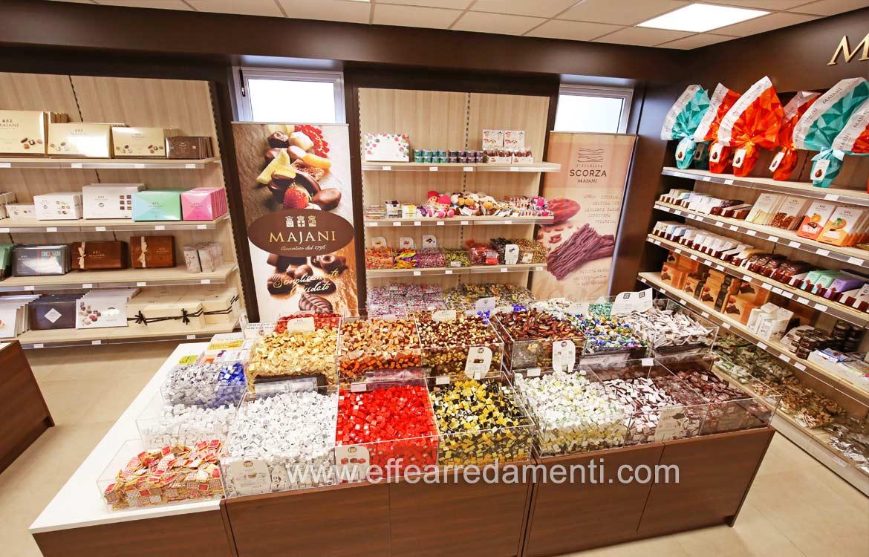Arredo Esposizione Cioccolatini cioccolate e Caramelle